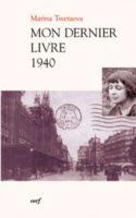 Mon dernier livre – 1940
